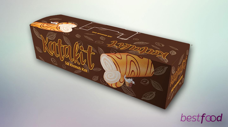 Katakit Çikolata Kremalı Swissroll Kek 270g