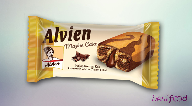 ALVIEN MAYBE KEK KARAMEL SOSLU 55gx24x6