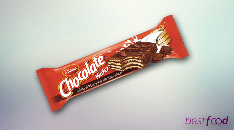 MINUET WAFER CHOCOLATE CREAM 120 GR X 12